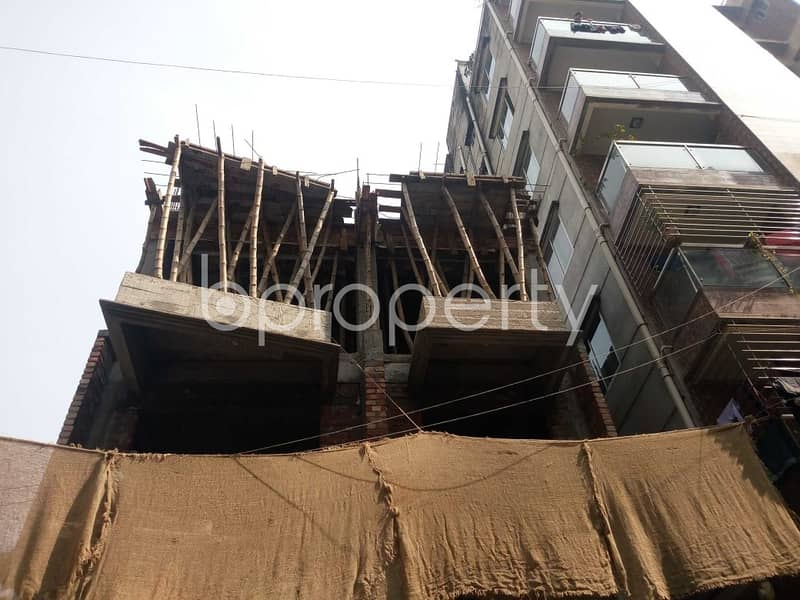 In The Location Of Kalachandpur, Close To Govt. Kalachandpur School & College A Flat Is Up For Sale
