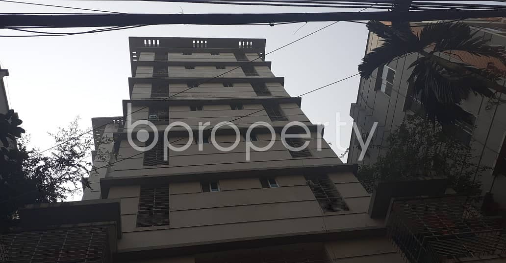 In The Location Of Bashundhara R-A , Close To Bashundhara Boro Masjid A Flat Is Up For Sale