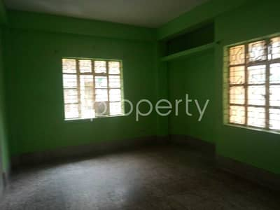 A Nice And Comfortable 1500 Sq Ft Flat Is Up For Rent In The Location Of Mehidibag