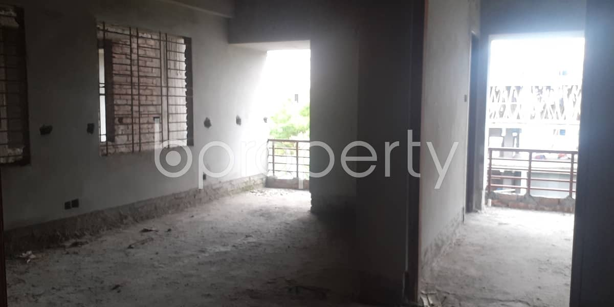 Worthy 875 SQ FT Residential Apartment is for sale at Mohammadpur, Block B