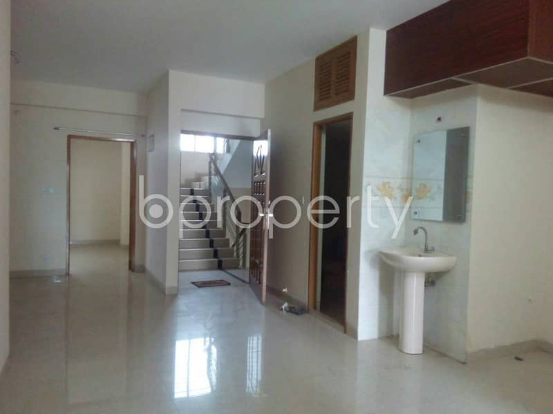 Ready flat 1400 SQ FT is now for sale in Uttara near by Regional Passport Office
