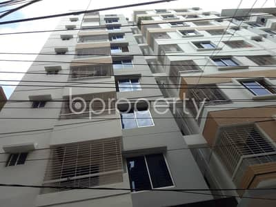 3 Bedroom Apartment for Rent in Dhanmondi, Dhaka - Prepared To Be Rented This Fascinating Apartment Of 1250 Sq Ft In Shukrabad