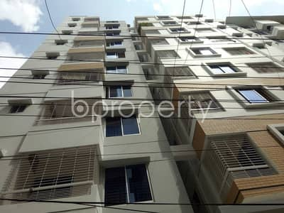 3 Bedroom Apartment for Rent in Dhanmondi, Dhaka - A Nicely Planned 1256 Sq Ft Flat Is Up For Rent In Shukrabad