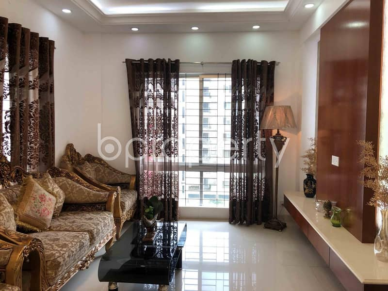 Create Your Home In A 2110 Sq Ft Flat For Sale In Bashundhara R/a Block D, Near Kuril Chowrasta Bus Stop