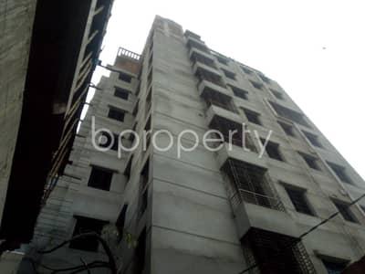বিক্রয়ের জন্য BAYUT_ONLYএর ফ্ল্যাট - জোয়ার সাহারা, ঢাকা - In The Location Of Joar Sahara, An Apartment Is For Sale Near Nadda Sarker Bari Jame Mosjid