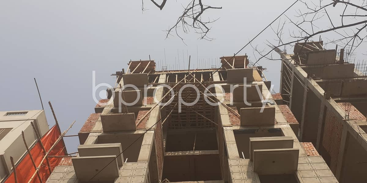 In The Location Of Bashundhara R-a, An Apartment Is For Sale Near Basundhara Residential Area Puja Mondop