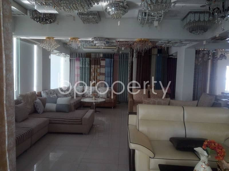 See This Office Space Of 1950 Sq. Ft Is For Sale Located In Baridhara Near Jamia Madania Baridhara Mosque.