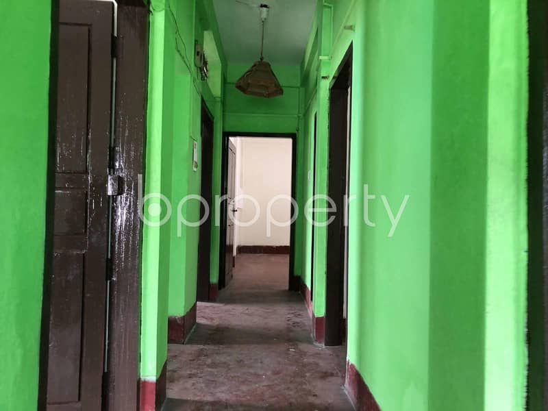 A Commercial Space Is Available For Rent In O. R. Nizam Road, Bagmoniram