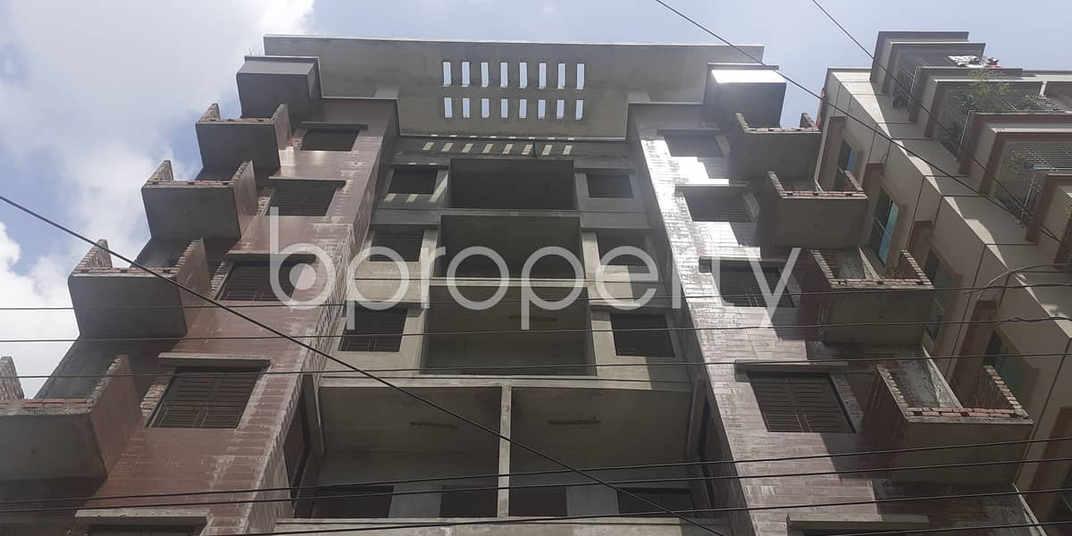 1250 Square Feet Nice Residential Apartment For Sale In Bashundhara R-A.