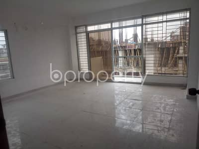 Comfortable And Nicely Planned A Large Flat In Bashundhara For Sale Nearby Baitul Jannat Jame Masjid