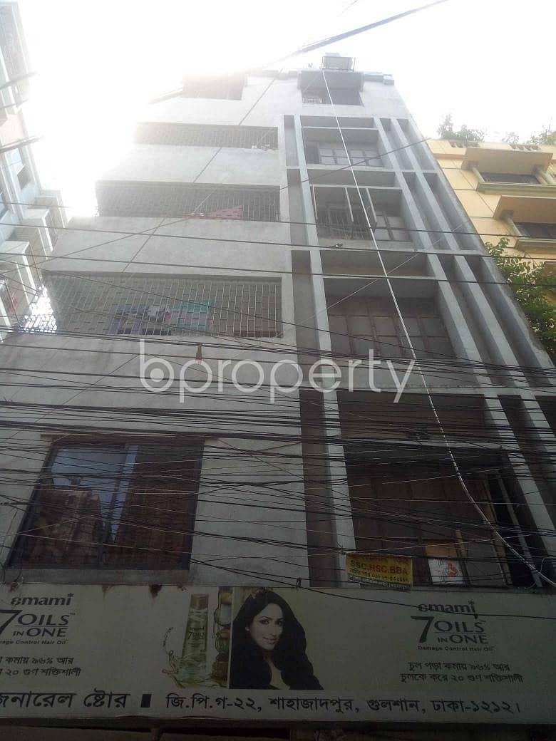 Decent-sized Apartment Of 750 Sq Ft Is Ready To Rent In Shahjadpur