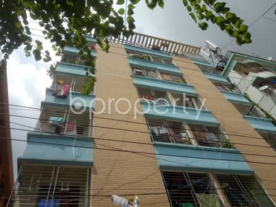 2 Bedroom Apartment for Rent in Badda, Dhaka - At Jagannathpur, 800 Square Feet Flat Is Available To Rent