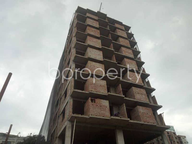 An Apartment Up For Sale Is Located At Shahjadpur, Near To Mubassara Jaman Homes Mosque.