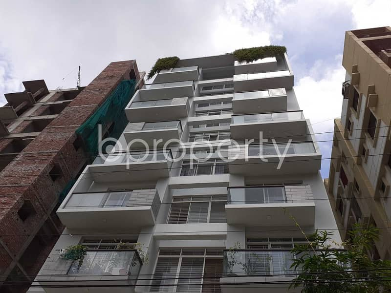 An Apartment Is Ready For Rent At Bashundhara R-A, Near Ebenzer International School.