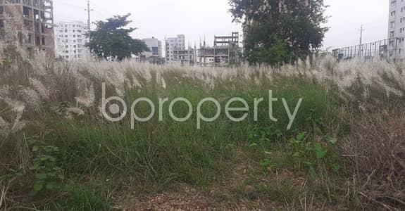 Plot for Sale in Bashundhara R-A, Dhaka - 5 Katha Residential Plot Sale In Bashundhara R-A