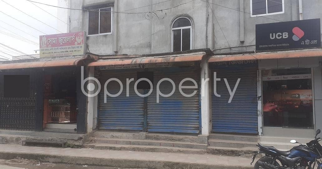 A 128 Sq. Ft Shop Is Up For Rent In Nobodoy Housing Society