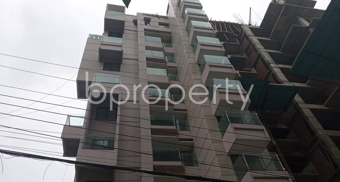 Comfortable, Convenient And Well-constructed 1860 Sq. Ft Flat Is Ready For Sale At Bashundhara R-A Very Close To IUB.