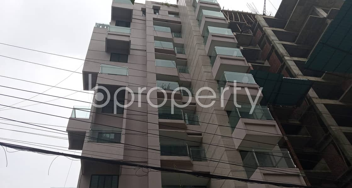 Spaciously Designed And Strongly Structured This 1860 Sq. Ft Apartment Is Now Vacant For Sale In Bashundhara R-A Near IUB.
