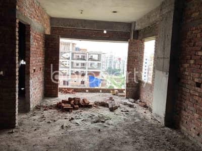 3 Bedroom Apartment for Sale in Aftab Nagar, Dhaka - An Apartment Is Up For Sale In Aftab Nagar, Near Khaja Ajmiri Jame Masjid.