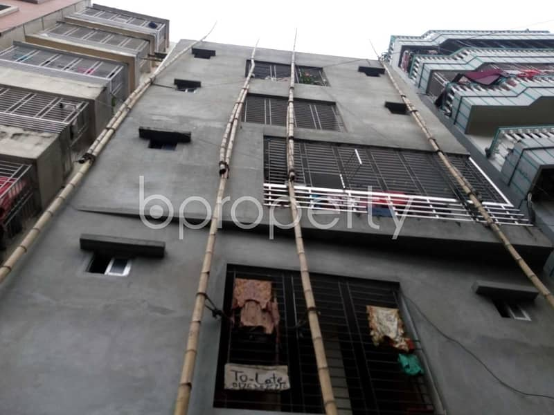Visit This 850 Sq Ft And Two Bedroom Apartment For Rent In Khan Bari Road, Kalachandpur