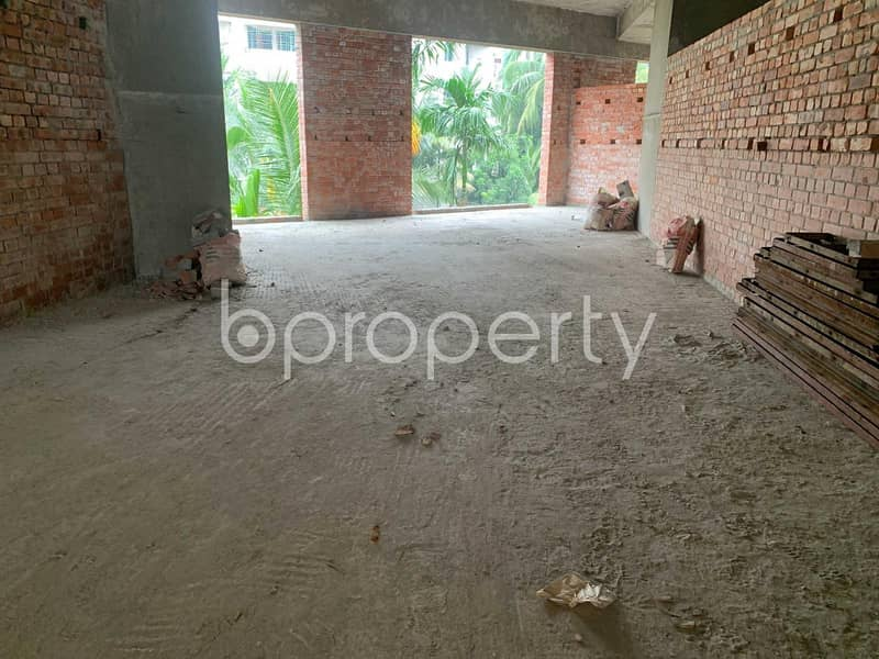 Acquire This 808 Sq Ft Shop Which Is Up For Sale In Bashundhara R-A