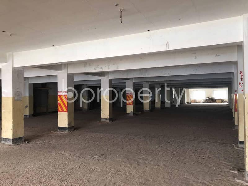 A Commercial Space Of 10000 Sq. ft Is Vacant For Rent In Pallabi Near To BSMR Maritime University