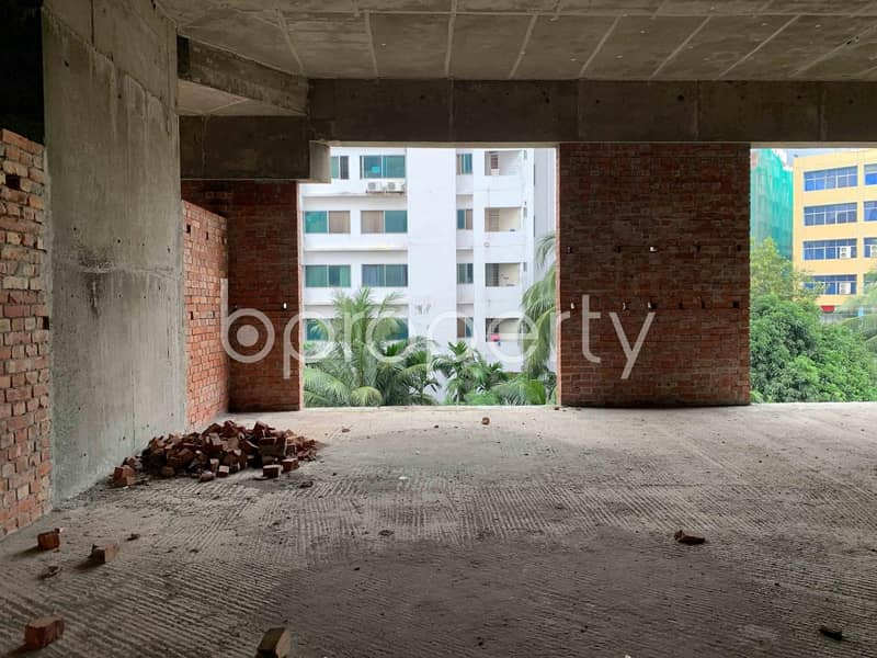 A 1057 Sq Ft Shop Space Is Waiting For Sale In Bashundhara R-A
