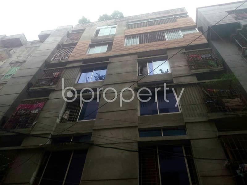 Nice 450 SQ FT apartment is available to Rent in Badda