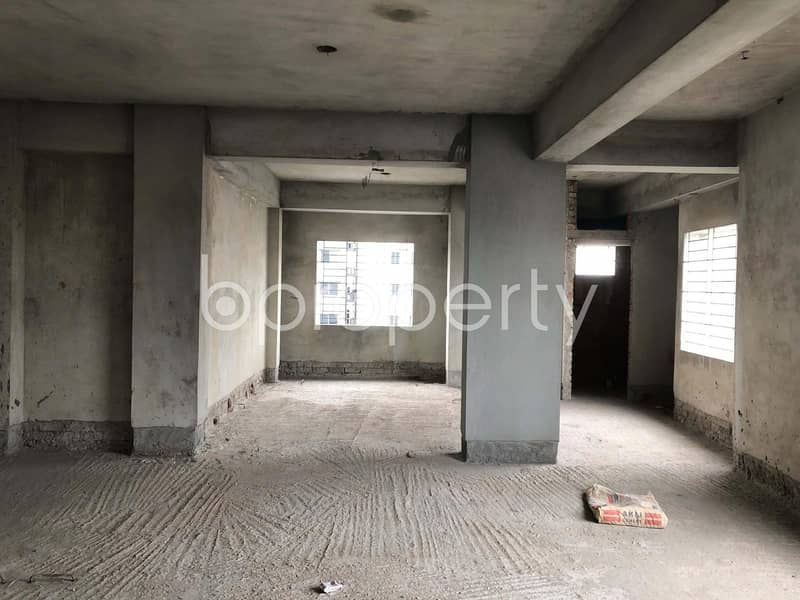 A Commercial Office Is Ready For Sale At Shahjadpur, Near Southeast Bank Limited