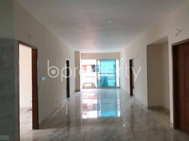 Offering You 2150 Sq Ft 4-Bedroom Nice Flat For Sale In Mirpur DOHS