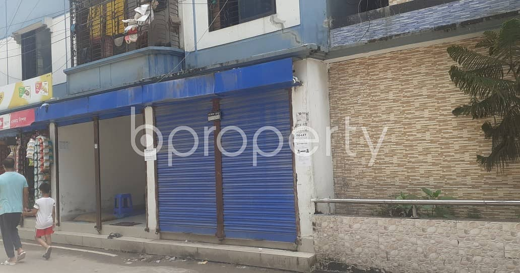 120 Square Feet Shop Is Available For Rent In Road No 3, Mohammadi Housing Ltd.