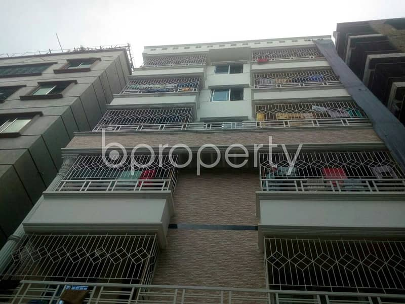 Visit This 720 Sq. Ft Apartment Up For Rent At South Baridhara Residential Area.