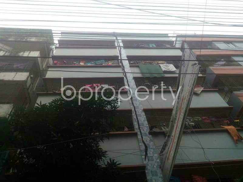 In South Baridhara Residential Area, A Reasonable Apartment Of 720 Sq Ft Is Waiting To Be Rented.