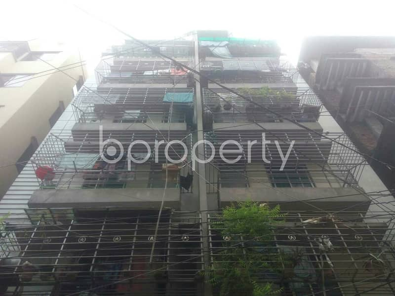 Nice 720 SQ FT flat is available to Rent in Badda