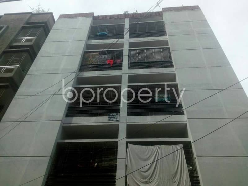 For Rental purpose nice 550 SQ FT flat is now up to Rent in Badda