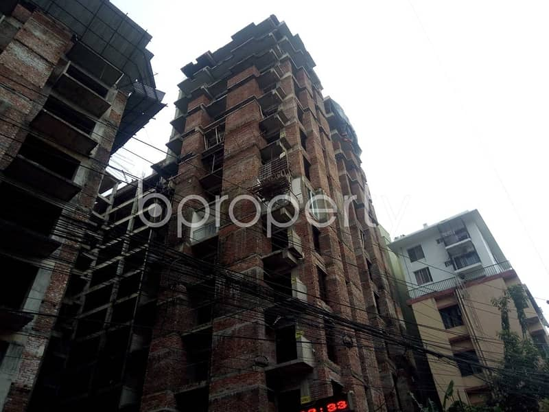 A well-constructed 1436 SQ FT flat is for sale in Katalgonj, Sheikh Bahar Ullah Lane