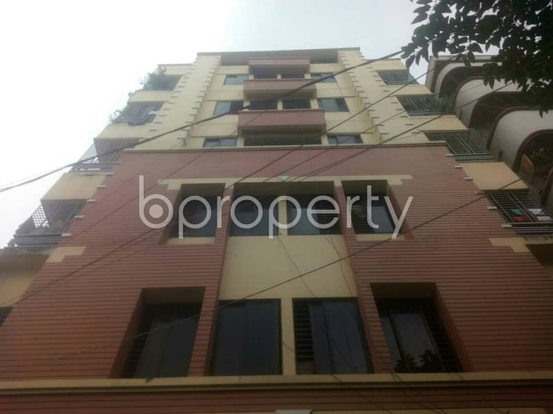 In The Beautiful Neighborhood In South Baridhara Residential Area, A 2 Bedroom Flat Is Up For Rent
