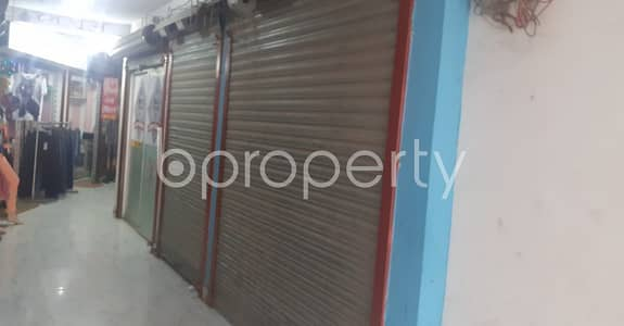 Shop for Rent in Bashundhara R-A, Dhaka - A 300 Sq Ft Shop Is Up For Rent In Bashundhara R/a