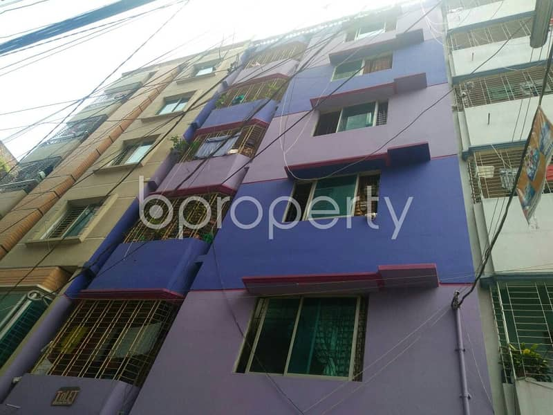 Residential 2 Bedroom Flat For Rent Is Near National Bangla High School In Mirpur