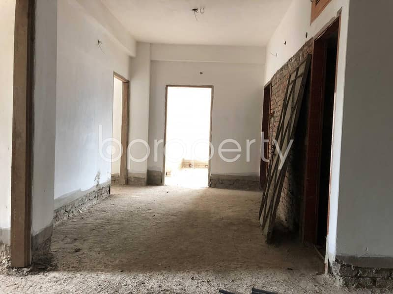This 1420 Sq. ft Brand New Flat In Muradpur With A Convenient Price Is Up For Sale
