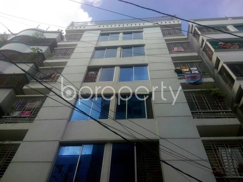 Stay In This 550 Sq Ft Nice Flat Which Is Up For Rent In South Baridhara R/a