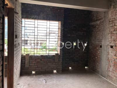 2 Bedroom Apartment for Sale in Aftab Nagar, Dhaka - 1150 Sq. ft. Flat For Sale In Aftab Nagar Near Pgcb Head Office