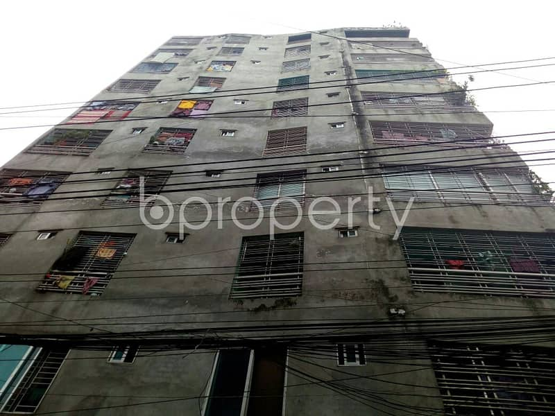 In The Location Of Gazipur, Close To The Scholar's School & College, A Flat Is Up For Sale