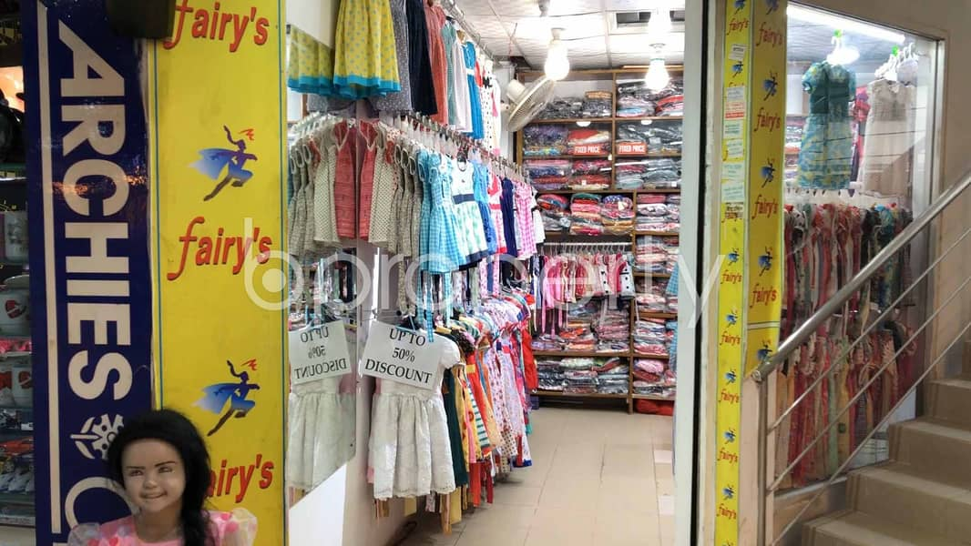 291 Sq Ft Shop Is Available For Sale In Dhanmondi