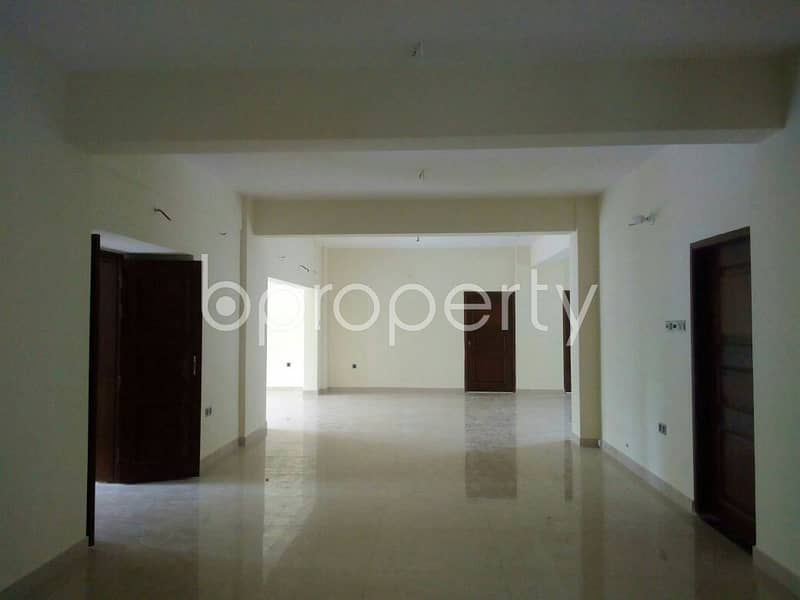 A Beautiful 4500 Sq Ft Apartment Is Up For Rent At Khulshi Hill R/a
