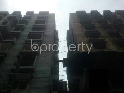 3 Bedroom Flat for Sale in Badda, Dhaka - A 1336 Sq. Ft House Is Available For Sale At Uttar Badda, With An Affordable Deal.