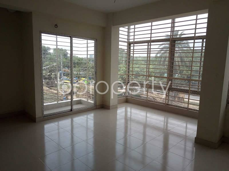 1800 Sq Ft Ample Commercial Space Is Available For Rent In Ranavola Avenue, Uttara