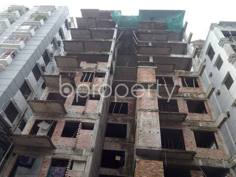 This Flat Of 2000 Sq. Ft Is Available For Sale At Bashundhara R/a Nearby Atimkhana Madrasa.