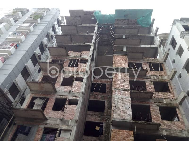 2000 Sq Ft Flat For Sale In Bashundhara R-a