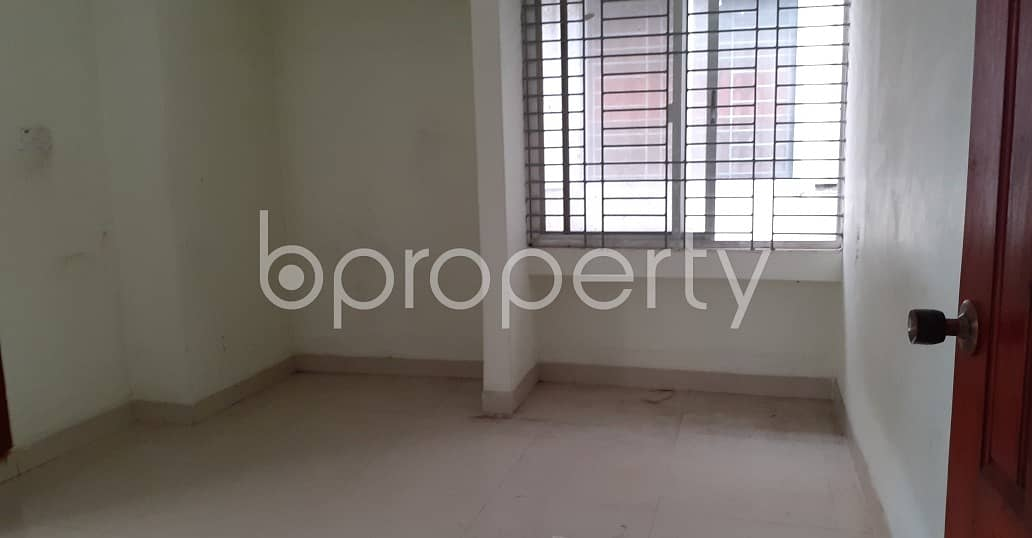 In K B Abdus Sattar Road, Jamal Khan, A 1000 Sq Ft Apartment Is Up For Rent